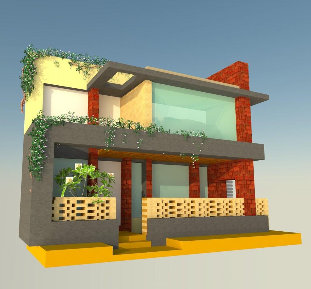 bungalow design in rajkot by prarthit shah architect and interior designer