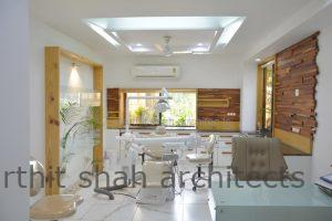 Dental clinic interior india @ prarthana Hospital