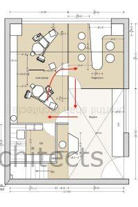 dental office design - Patient movement loop