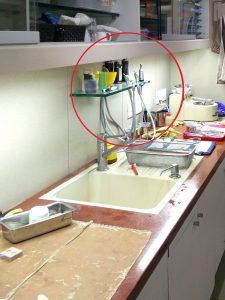dental clinic plumbing design - laboratory