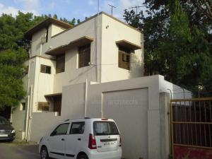 existing architect's office + home prarthit shah architects rajkot