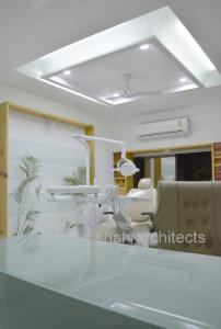 Dental Clinic lighting @ prarthana Hospital Prarthit Shah Architects Rajkot