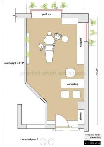 Dental Clinic Plan @ Prarthana Hospital A
