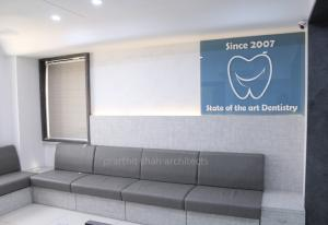 Dental clinic waiting area of Maa Sharda clinic