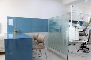 Dental clinic interior design india of Maa Sharda clinic